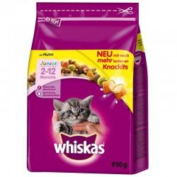 Whiskas Junior 1.9kg sucha karma z kurczakiem