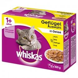 Whiskas 12 x 100 g Adult- Drób w galarecie