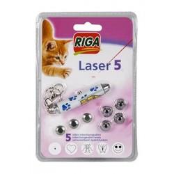 Wskaźnik laserowy 5-funkcyjny Riga