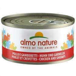 Almo Nature puszka 70g- Kurczak krewetki