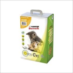Benek Corn Cat Naturalny 6l - zbrylający bezzapachowy