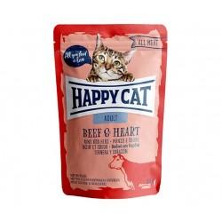 Happy Cat adult 85g- Wołowina serca