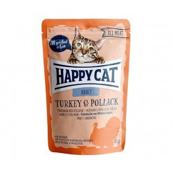 Happy Cat adult 85g- Indyk łosoś