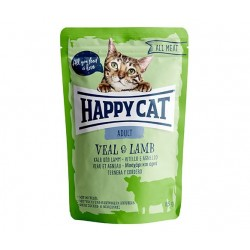 Happy Cat adult 85g- Cielęcina jagnięcina