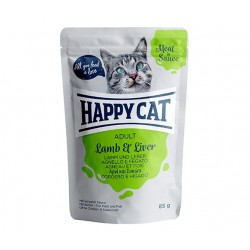 Happy Cat adult 85g- Jagnięcina wątróbka w sosie