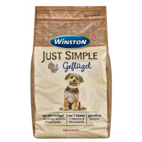 Winston Just Simple 1,5kg- Bez glutenu -drób