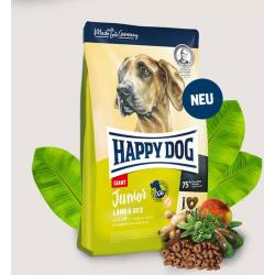 Happy Dog Junior Giant  15kg- Jagnięcina z ryżem karma dla psów Junior dużych ras