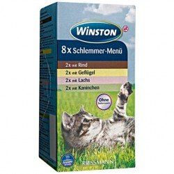Winston - Mix 8 szalek w kartoniku