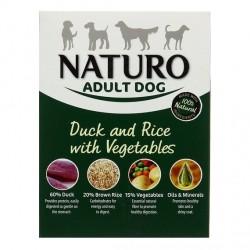 Naturo 400g kaczka z ryżem dla psa