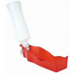 Butelka plastikowa z miską