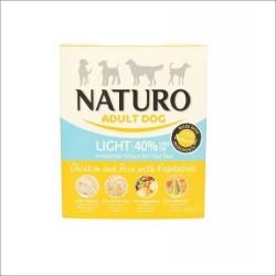Naturo 400g Light kurczak z ryżem i warzywami dla psa