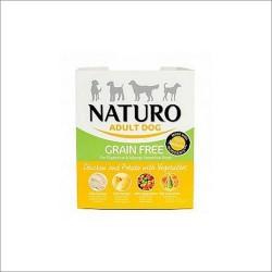 Naturo 400g GrainFree Bez zbóż Kurczak z ziemniakami i warzywami dla psa