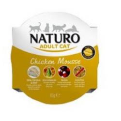 Naturo 85g Mus z kurczaka dla kota