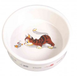 Miska ceramiczna dla kota z motywem 200ml