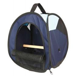 Torba transportowa dla ptaków, 27 × 32 × 27 cm, ciemnoniebieska/jasnoniebieska