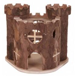 Zamek drewniany 15x11x14