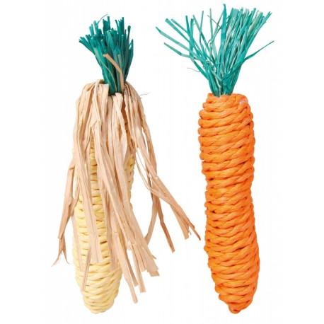 Sizalowa marchew, kukurydza 15cm