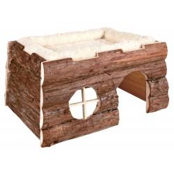Domek  tilde  dla świnki morskiej i królika  39×20×29 cm