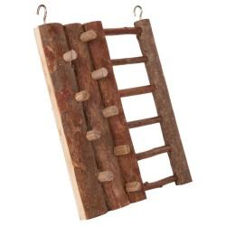 Ścianka do wspinania dla gryzoni, drewniana, 16×20 cm