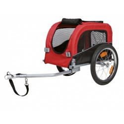 Wózek dla psa, 38×37×58 cm czerwono-czarny