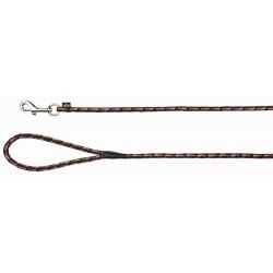 Smycz mountain rope, 5 m/ř 8 mm, czarno/pomarańczowa