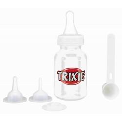 Butelka dla osesków, zestaw, 120ml/ przezroczysta, biała