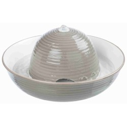 Automatyczne poidło vital flow, ceramiczne, 1.5 l, szaro/białe