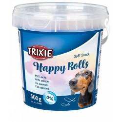 Miękkie przekaski dla psa happy rolls, 500 g