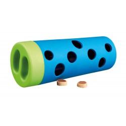 Zabawka dla psadog activity snack roll / rolka do przysmaków śr. 6/5×14 cm red-blue