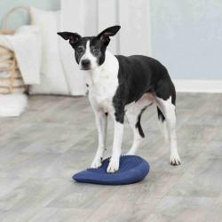 Poduszka do ćwiczenia równowagi dog activity, 28 × 4 × 28 cm, ciemnoniebieska