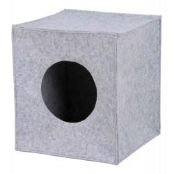 Legowisko zamknięte anton, 33x33x37 cm, szare