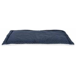 Koc ferris, 100 × 70 cm, niebieski/biały