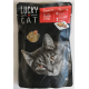 Lucky Cat ( Saphir ) 100g -Wołowina indyk szpinak pasztet
