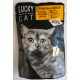 Lucky Cat ( Saphir ) 100g -Drób wątróbka zioła pasztet
