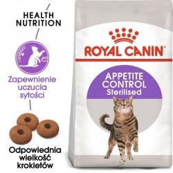 Royal Canin Sterilised Appetite- większe uczucie sytości