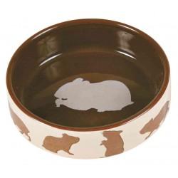 Miska ceramiczna dla chomika z motywem chomika, 80 ml, śr. 8 cm