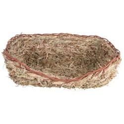 Łóżko z trawy dla królika 33×12×26 cm