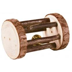 Zabawka dla gryzoni: rolka, drewno , 7×5 cm