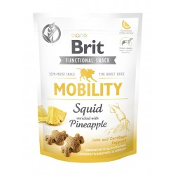 Brit Care functional snack Mobility Squid 150g Wspiera stawy