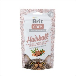 BRIT Care Cat Przysmak Snack Hairball 50g