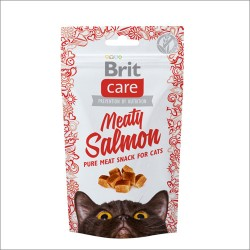 BRIT Care Cat Przysmak Snack Salmon 50g