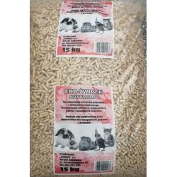 Domus Eko Żwirek drewniany dla kotów i gryzoni 15 kg