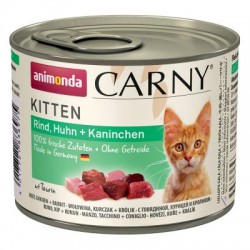 Animonda Carny Kitten - Kurczak z królikiem 200g