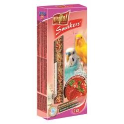 Vitapol Smakers- Kolba truskawkowa dla Papużki falistej 2szt.