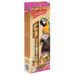 Vitapol Smakers Orzechowo Kokosowy- Kolba dla dużych papug 2 szt
