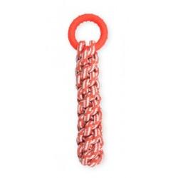 PET NOVA TPR Gruby węzeł sznura oraz ringo 30cm