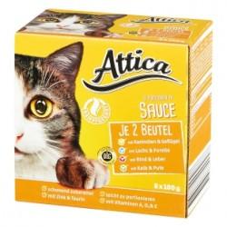 ATTICA 8 x 100 g - mix mięs w sosie