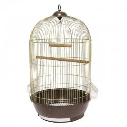 Vitapol Klatka dla ptaków złoto/czarna