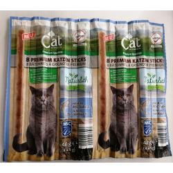 Cat Naturlich Kabanosy dla Kota 8 szt- Dorsz