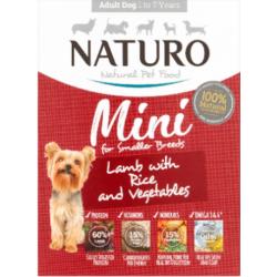 Naturo Mini 150g jagnięcina z ryżem i warzywami dla psa